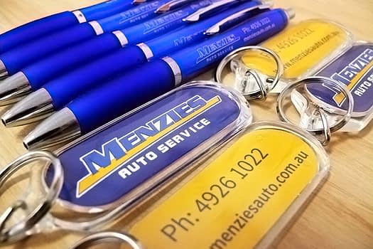 Menzies Auto Rockhampton | Promotional Item Supply