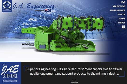 JAE Engineering Rockhampton | Website Design