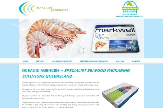 Oceanic Agencies Brisbane | Web Design