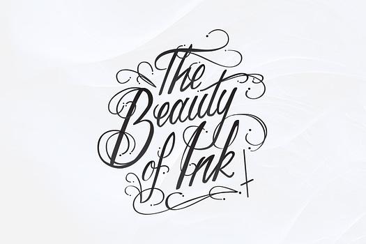 The Beauty of Ink Yeppoon | Typographic Logo Design