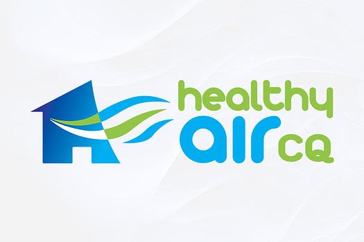 Healthy Air Central Queensland | Combination Logo Design