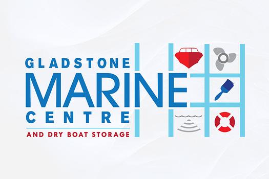 Gladstone Marine Centre | Combination Logo Design