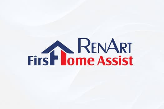 Renart First Home Assist | Typographic Icon