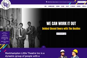 Rockhampton Little Theatre | Website Design