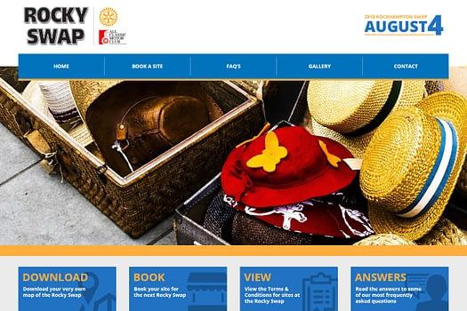 Rocky Swap Rockhampton | Website Design