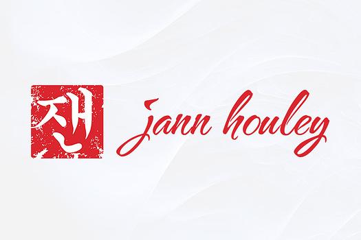 Jann Houley | Combination Logo Design