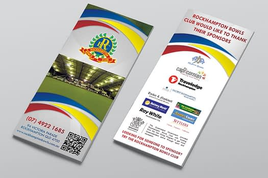 Rockhampton Bowls Club | Flyer Design