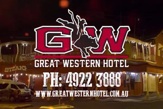 Great Western Hotel Rockhampton TV Advertising
