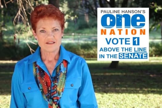 One Nation TV Advertising