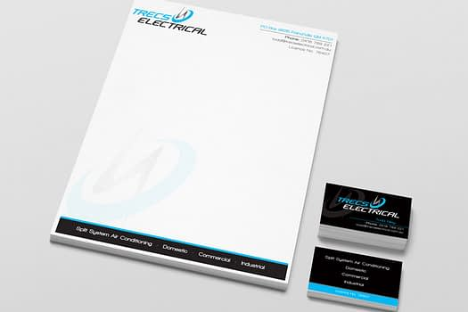 Trecs Electrical | Business Stationary Design