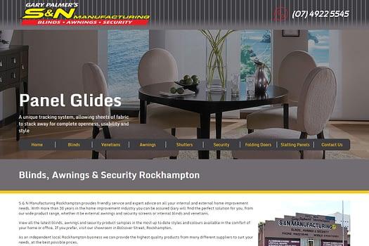 S&N Manufacturing Rockhampton | Web Design