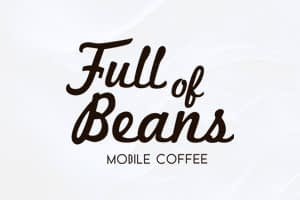 Full of Beans Rockhampton | Typographic Logo Design