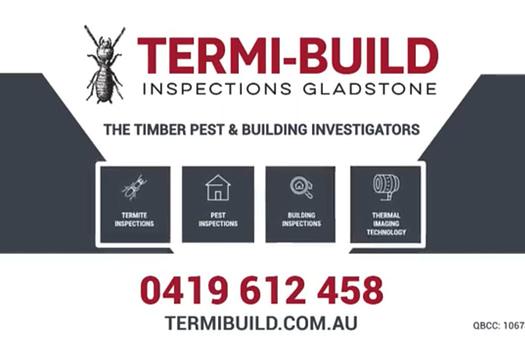 Termi-Build Gladstone TV Advert