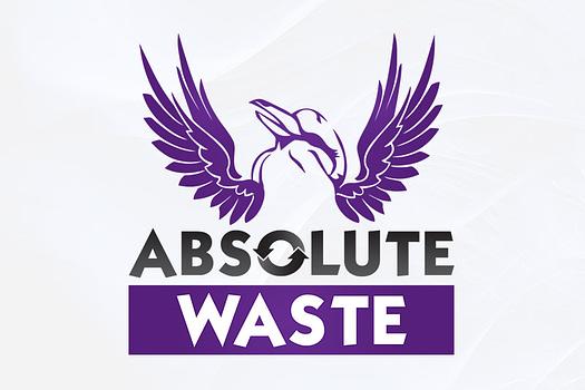 Absolute Waste Rockhampton | Combination Logo Design