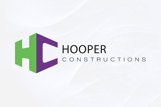Hooper Constructions Rockhampton | Combination Logo Design