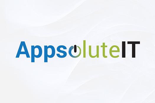 Appsolute IT Rockhampton | Typographic Logo Design