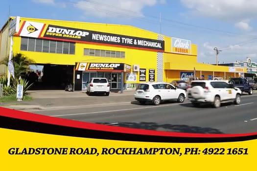 Newsomes Tyres Rockhampton TV Advertising