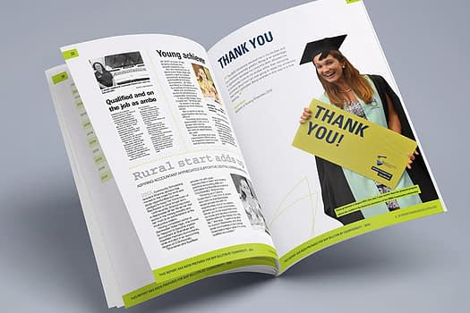CQUniversity | Booklet Graphic Design