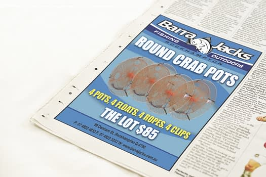 Barra Jacks Rockhampton | Newspaper Advertising