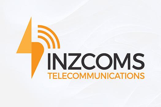 Inzcoms Rockhampton | Typographic Logo Design