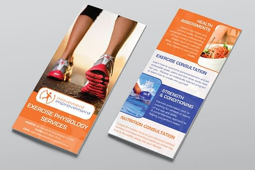 Movement Improvement Rockhampton | Brochure Graphic Design