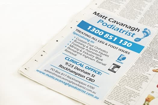 Matt Cavanagh Rockhampton | Newspaper Advertising