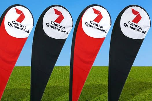 Channel 7 Queensland | Teardrop Banner Supplier